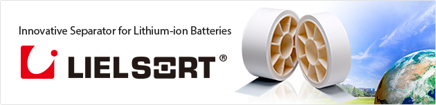 Innovative Separator for Lithium-ion Batteries LIEL SOAT®