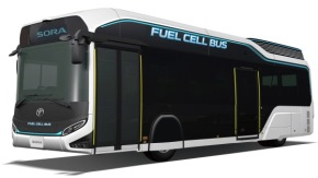fuel-cell bus